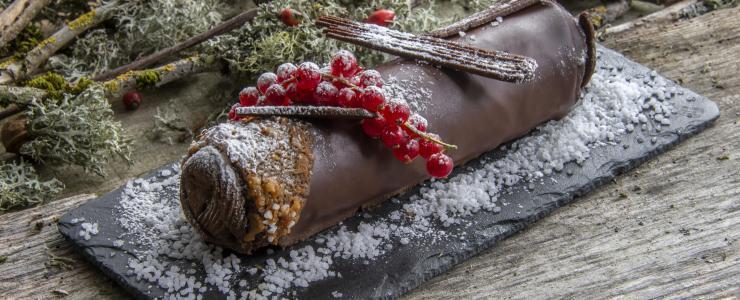 La bûche forestière 64% chocolat