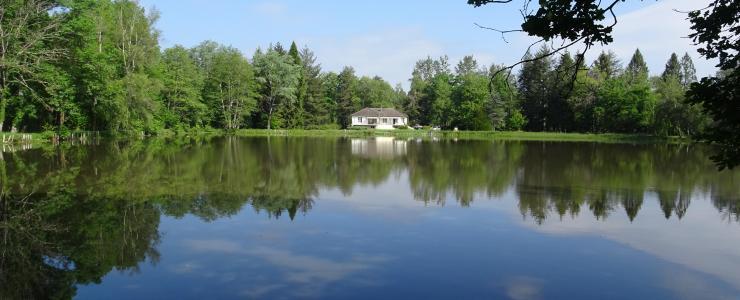 Maison d'habitation avec étang en Sologne