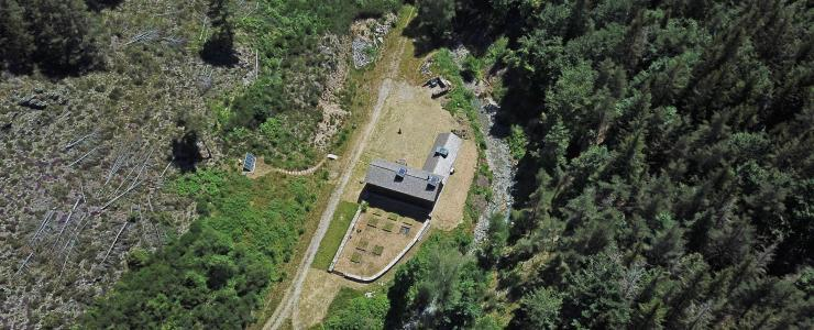 Domaine forestier et atelier d'artiste en Occitanie